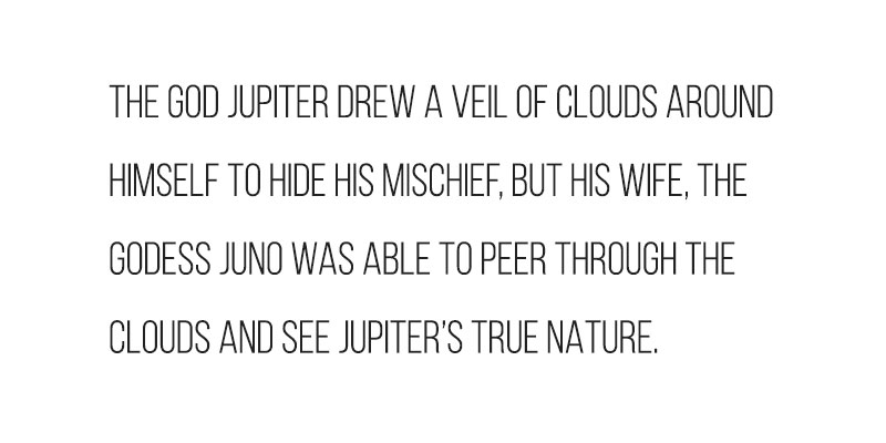 The origin of Juno's name